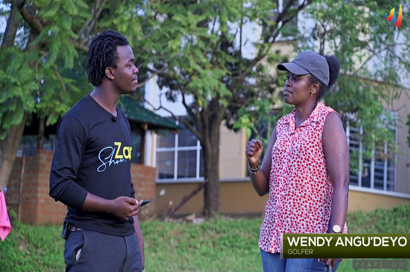 The ZAP SHOW-Episode 7, A story of Arua star Wendy Angu'deyo, a lady golfes and an assistant Captain of West Nile Golf club