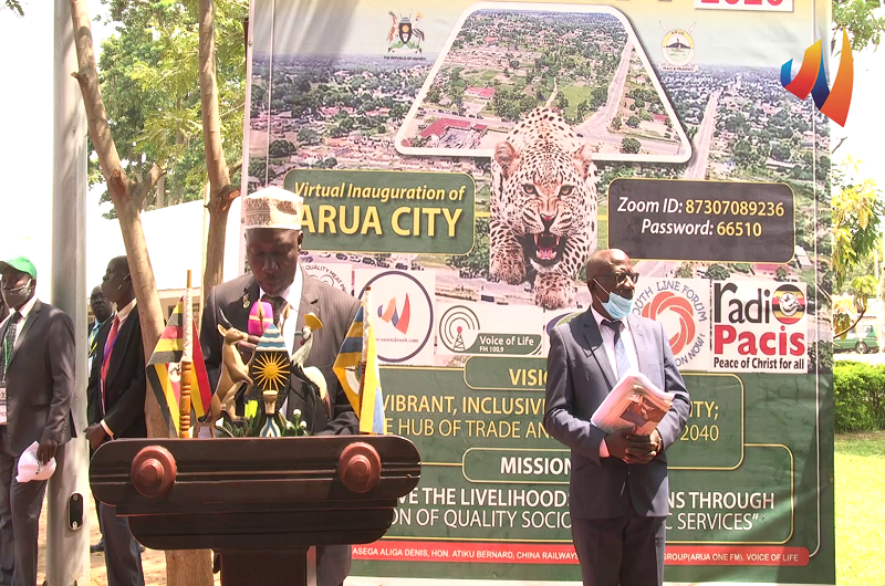 Official launch of Arua city
