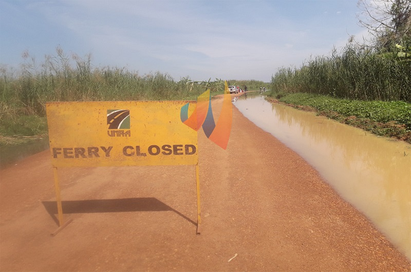 Rising water Levels: Obongi-Sinyanya ferry services suspended
