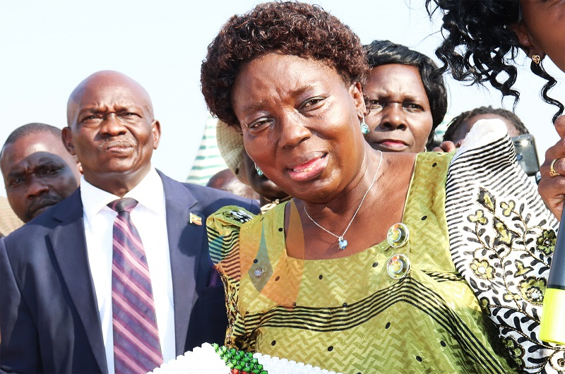 Speaker Kadaga commissions MP Osoru's ambulances in Arua