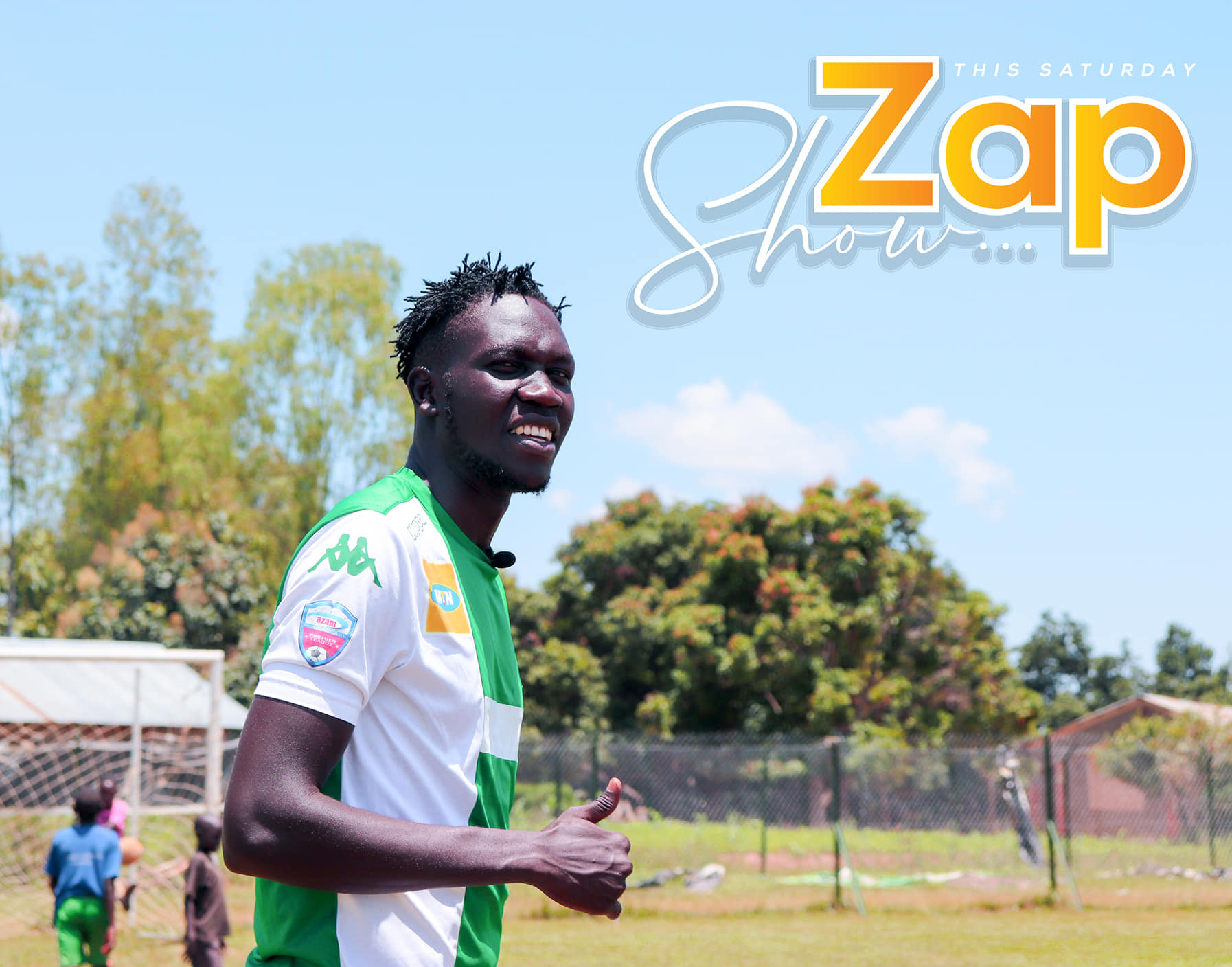 The ZAP SHOW- Episode 4, An Interview with the Charismatic Onduparaka FC captain Toha
