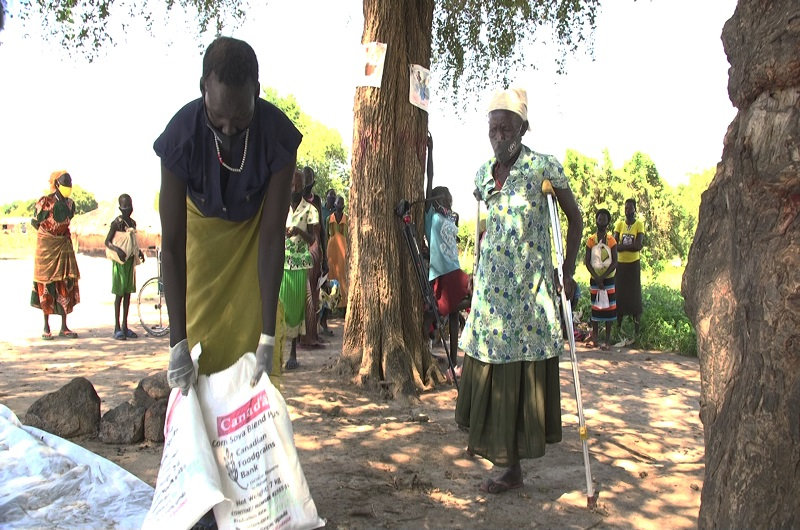 How PAG is feeding vulnerable refugees and host communities in Rhino Camp refugee settlement