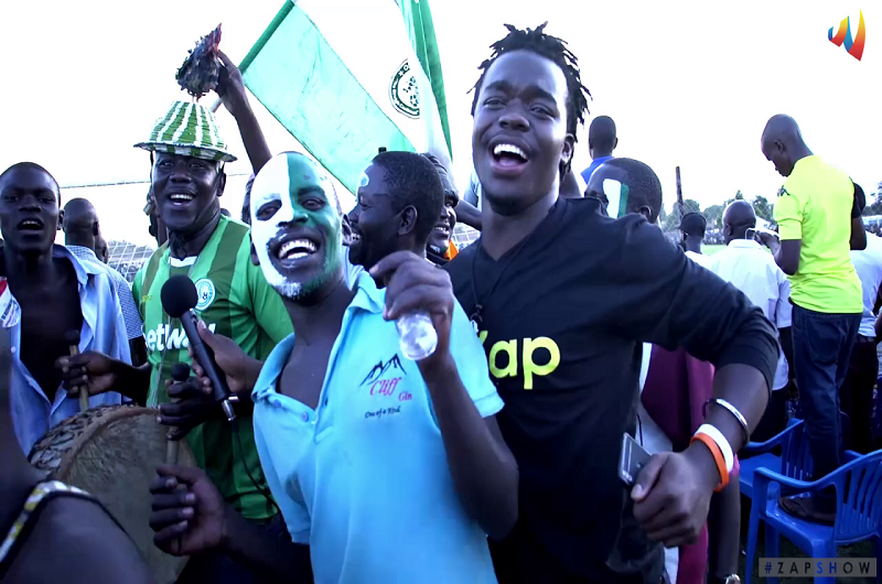 The ZAP SHOW- Episode 6-Onduparaka FC fundraising event for a team bus at the green- light.
