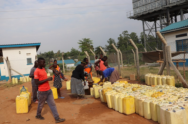 Arua Water crisis, Residents in the affected parts have had to accept the hard reality