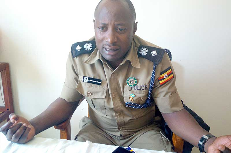 Mr Brian Ampaire, the Koboko District Police Commander